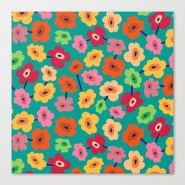 BP 13 Flowers Canvas Print