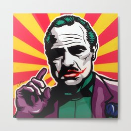 The JokeFather Metal Print