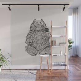 Hello Bear Wall Mural