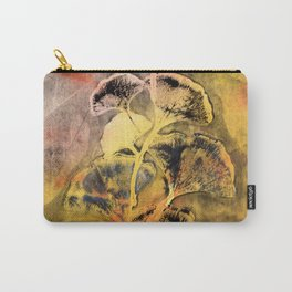 Autumn Ginkgo Leaves Carry-All Pouch