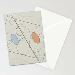 Geometric fever Stationery Cards