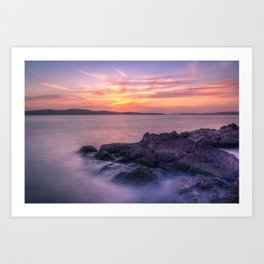 Portencross Bay Art Print