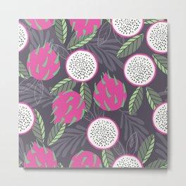 Dragon fruit pattern 03 Metal Print