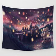 Lights for the Lost Princess Wall Tapestry