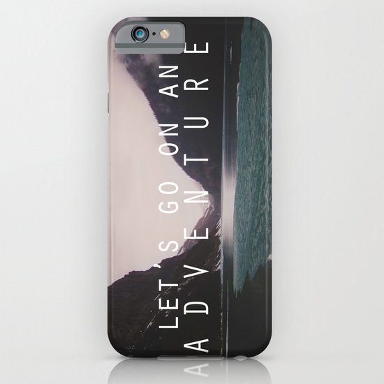 let's go on an adventure. iPhone & iPod Case