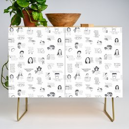 Gilmore Girls quotes Credenza