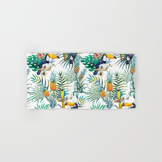 Parroted Hand & Bath Towel