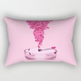 PINK SMOKE Rectangular Pillow