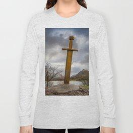 Sword of Llanberis Snowdonia Long Sleeve T-shirt