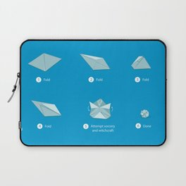 Step-by-step Origami Laptop Sleeve