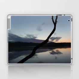 Sunset on lake, Nature Photography, Landscape Photos, sunset photos Laptop & iPad Skin