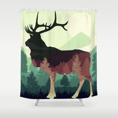 Difference  Shower Curtain