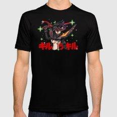 Kill La Kill Ryuko & Senketsu Tribute Mens Fitted Tee Black MEDIUM