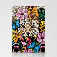 jungle Stationery Cards featuring jungle by Marica Zottino