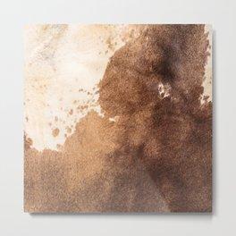 Faux Cowhide Leather [ii.2021] Metal Print