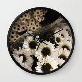 Gerbera Daisies Wall Clock