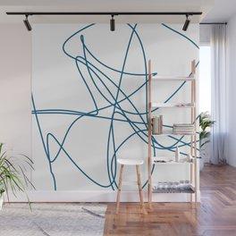 Spaghetti Lines Wall Mural