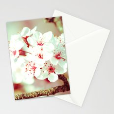 Cherry Blossom Flowers Stationery Cards
