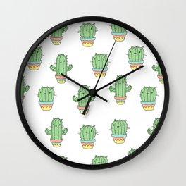 Cat-cus Wall Clock