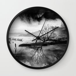 The Fisherman's son who wanted to be a mountaineer! Wall Clock