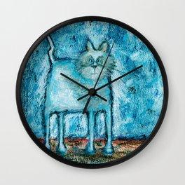 A bit tensed Wall Clock