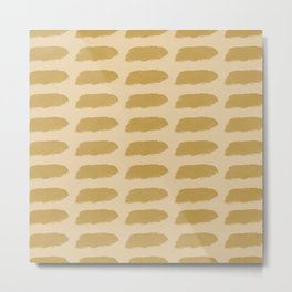 Dotted lines pattern #564 Metal Print