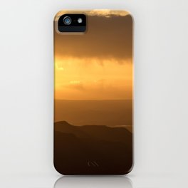Sunset at Black Canyon of the Gunnison iPhone Case