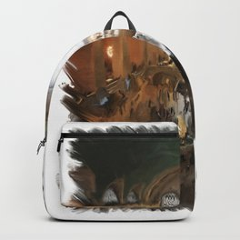 Grand Central Terminal in Digital Oils Backpack