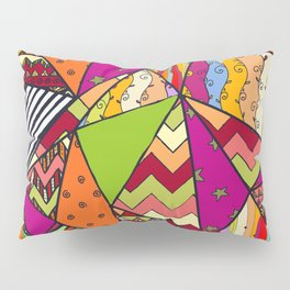 African Style No14, Tribal dance Pillow Sham