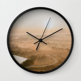 Kentucky from a Hot Air Balloon Wall Clock