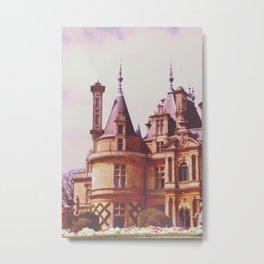 French Chateau Metal Print