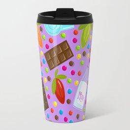 Chocolate Ingredients Travel Mug