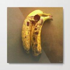 The Kiss (Banana Lovers)  Metal Print