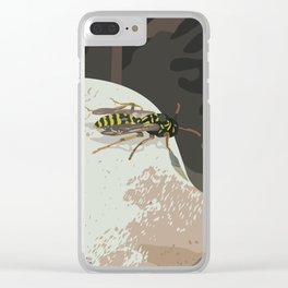 Wasp Clear iPhone Case