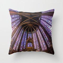 Sainte Chapelle Throw Pillow