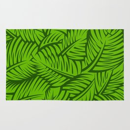Great Palm Leaves Rug
