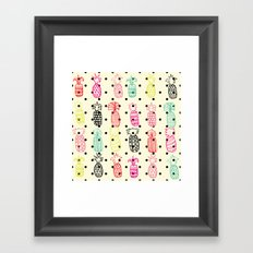 Tropic Pineapple Framed Art Print