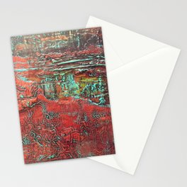 Aztec Fossil Painting Series Stationery Cards