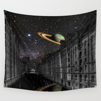 saturn Wall Tapestries featuring Saturn by Cs025