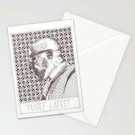 Yusef Lateef Jazz Portrait Stationery Cards