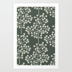 pod trees Art Print