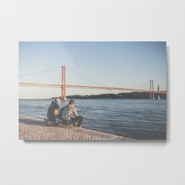 SKATE AND ENJOY Metal Print
