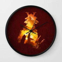 Final Duel Wall Clock