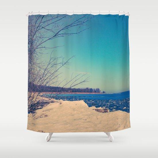 Winter Romance Shower Curtain