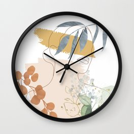 Line in Nature II Wall Clock