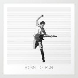 Alternate Springsteen 2 Art Print