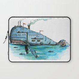 Steamboat Whale Laptop Sleeve
