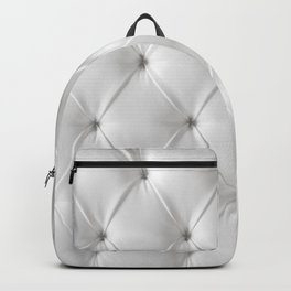 white chesterfield Backpack