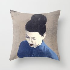 The wind cannot read Throw Pillow