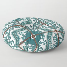 Portuguese Tile Floor Pillow